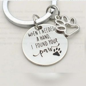 New in packaging! Paw print 🐾   Keychain